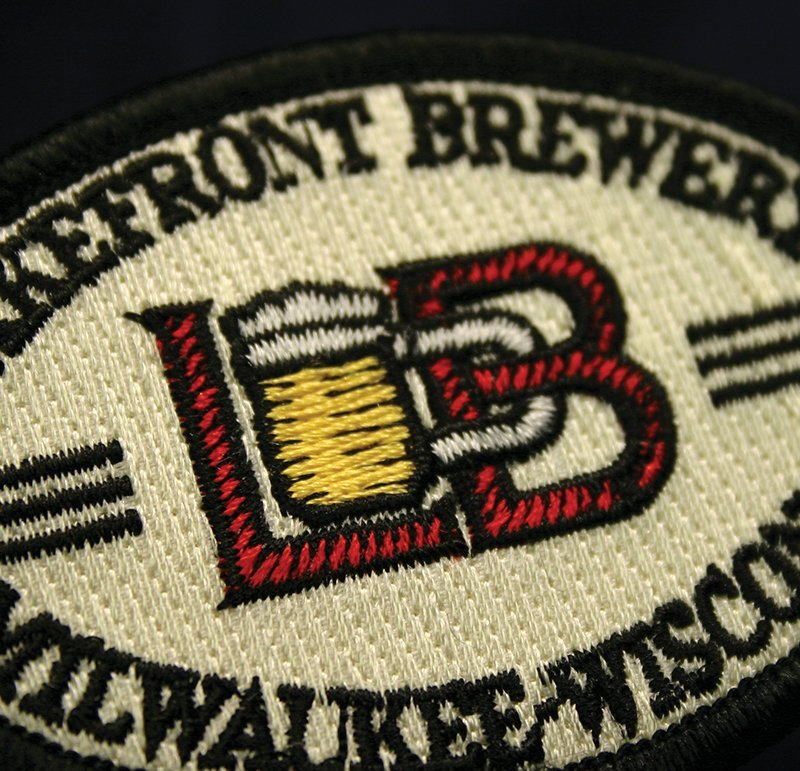 lakefront brewery embroidery